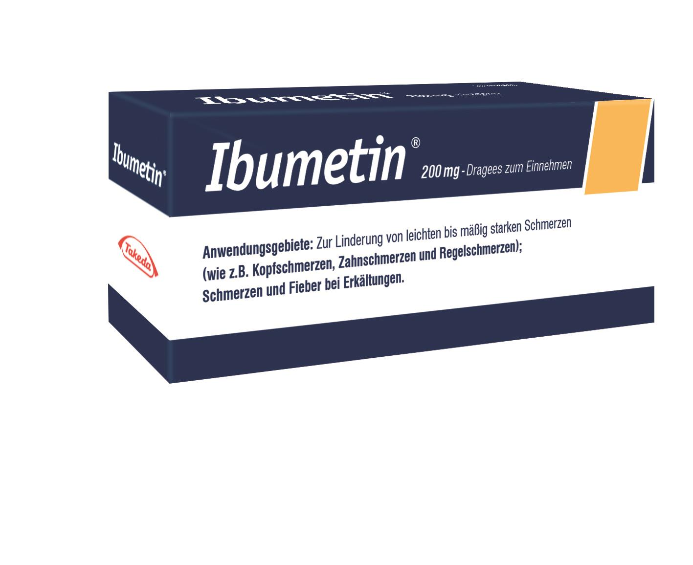 Ibumetin 200 mg - Dragees