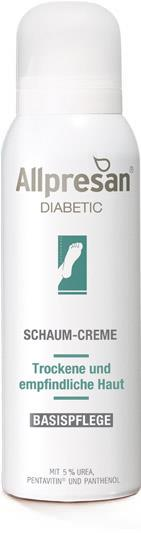 Allpresan diabetic Fuß Basispflege Schaum Creme