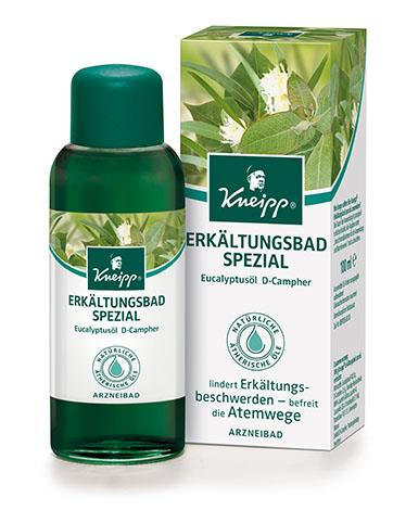 Kneipp Erkältungsbad Spezial Eukalyptus-Campher 100ml