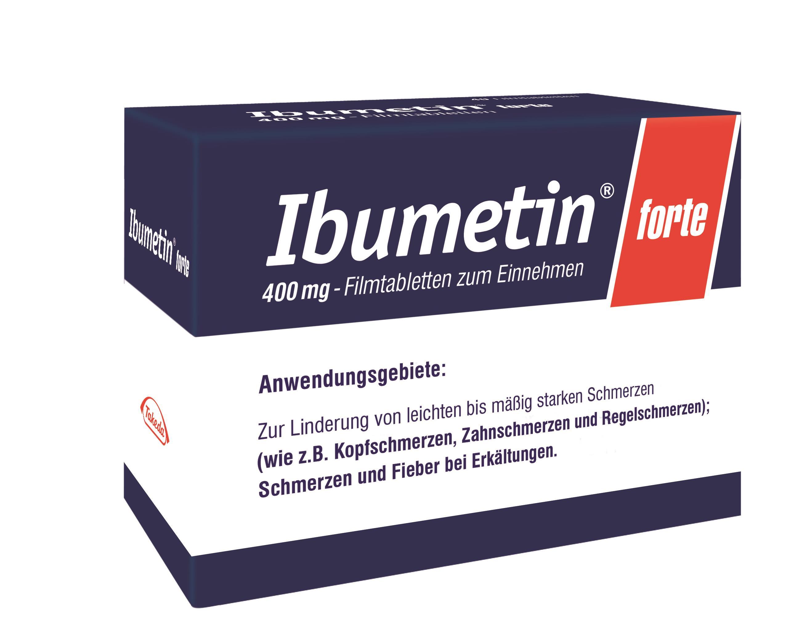 Ibumetin forte 400 mg - Filmtabletten