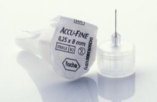 Accu-Fine Insulinpennadeln 0,25/8mm
