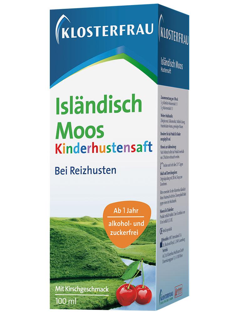 Klosterfrau Isländisch Moos Malve Kinderhustensaft