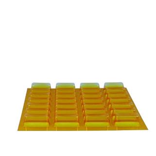 Blistereinsatz 7X4 mit UV-Schutz LARGE