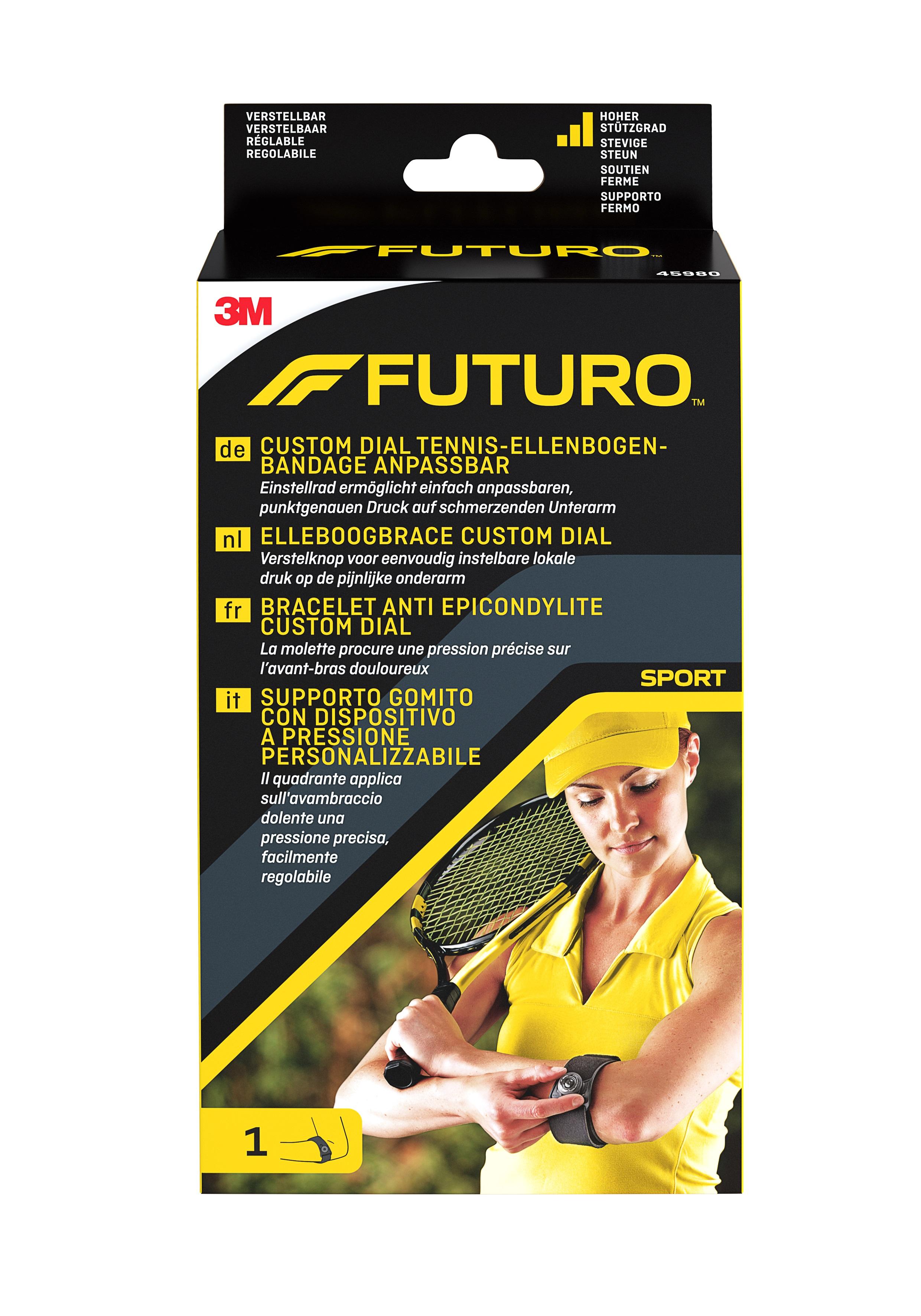 FUTURO™ Custom Dial Tennis-Ellenbogen-Bandage anpassbar