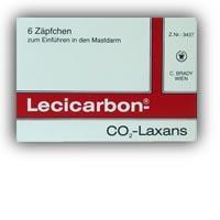 Lecicarbon - Zäpfchen