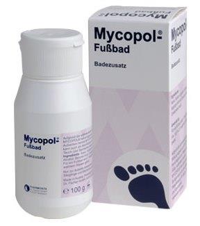 Mycopol-Fußbad