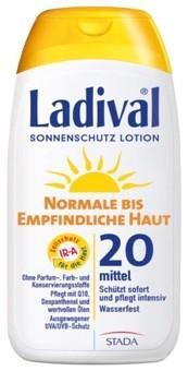 LADIVAL® normale bis empfindliche Haut Sonnenschutz Lotion LSF 20