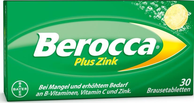 Berocca plus Zink - Brausetabletten