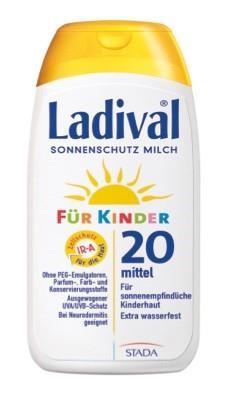 LADIVAL® Kinder Sonnenschutz Milch LSF 20