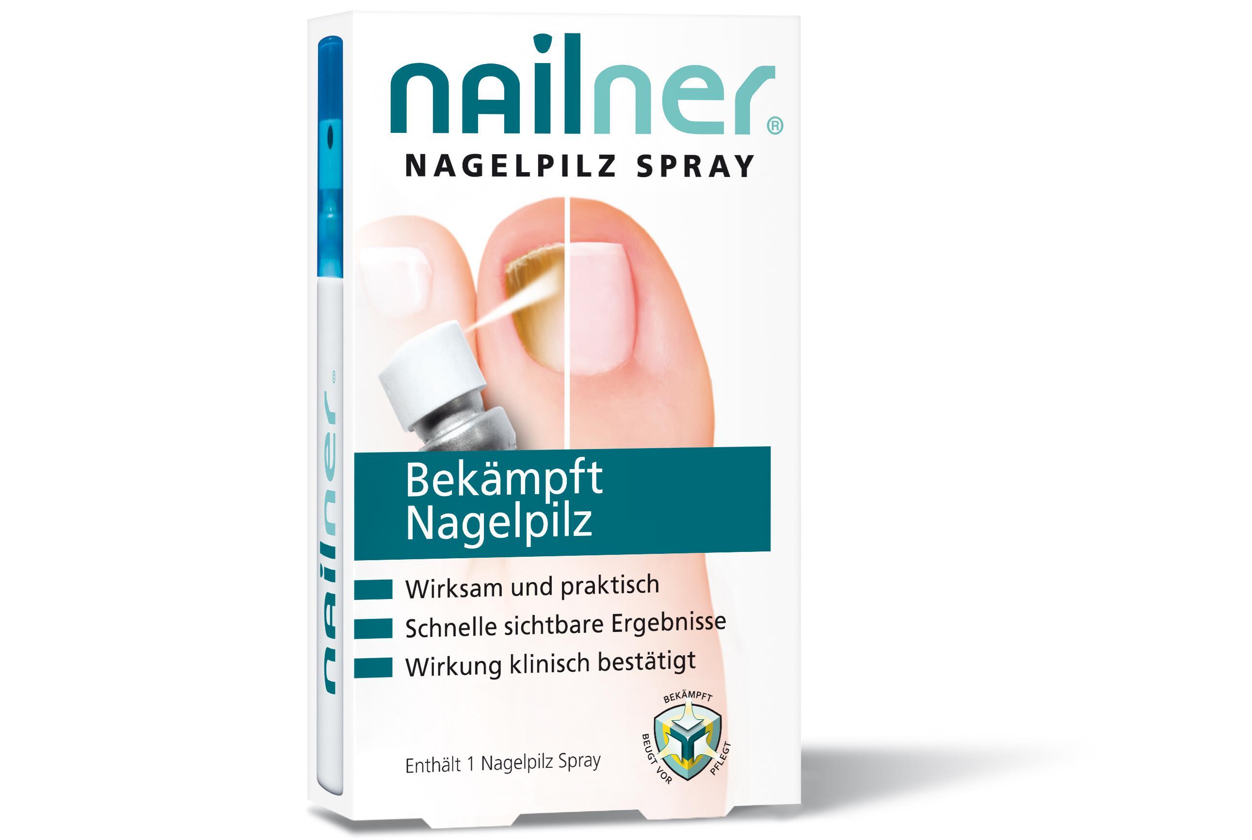 Nailner Nagelpilz Spray