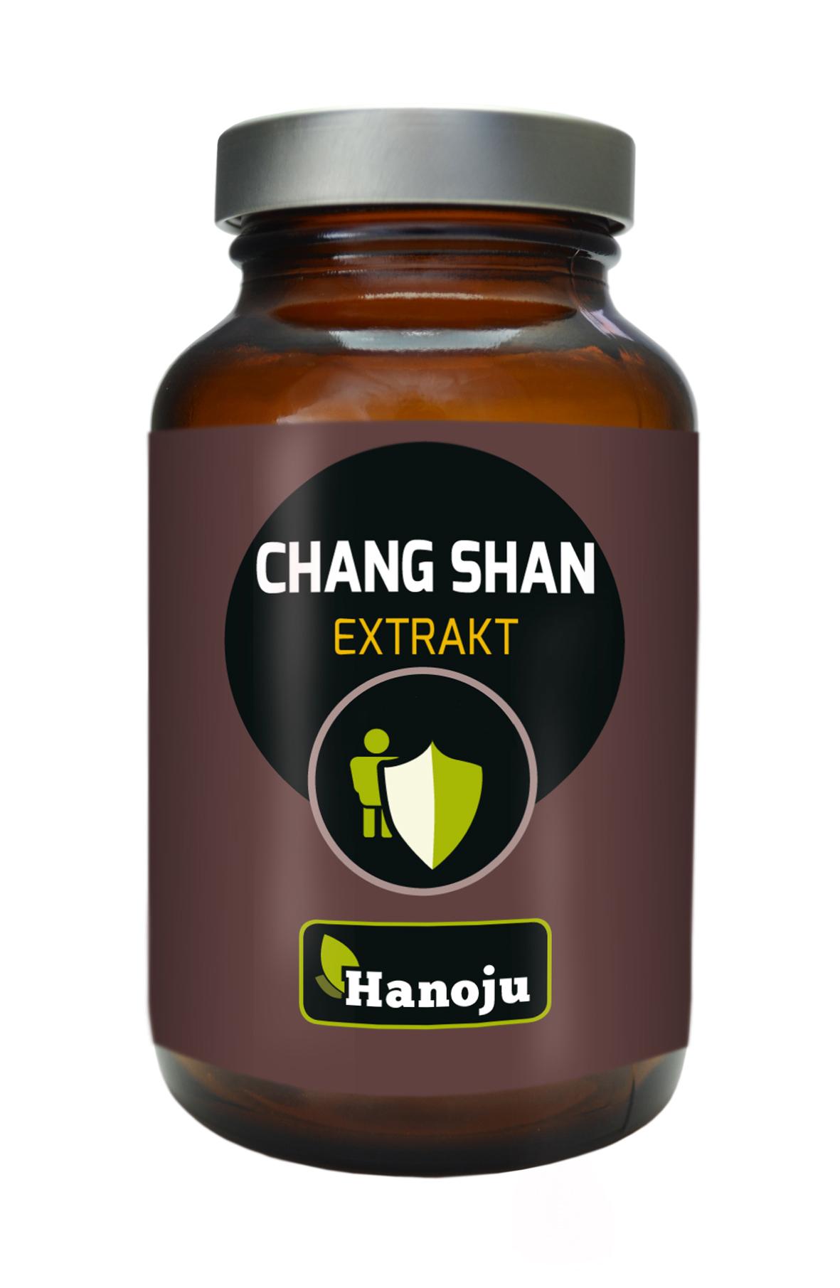 Hanoju Chang Shan Extrakt Kapseln 400mg