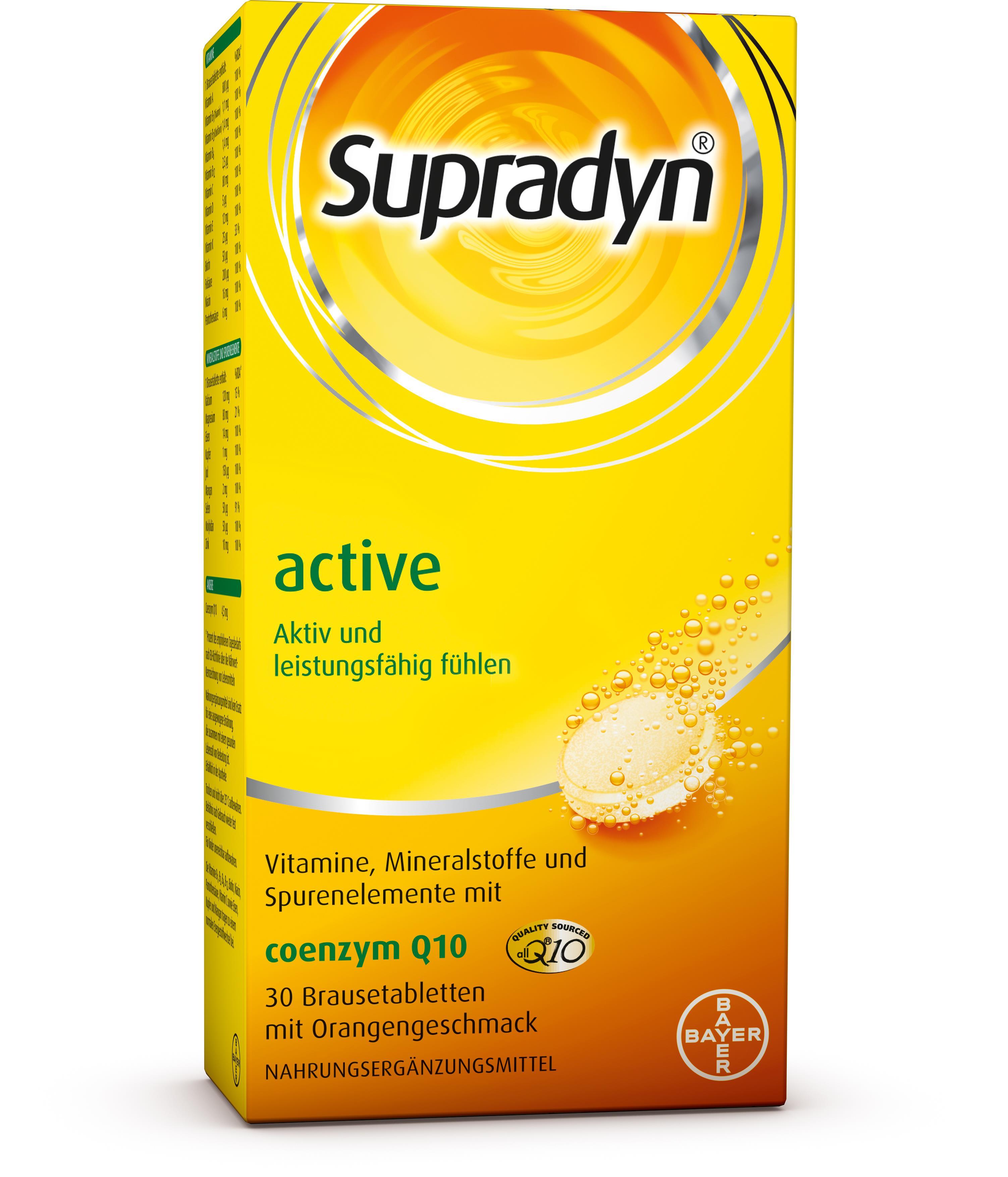 Supradyn® active Brausetabletten
