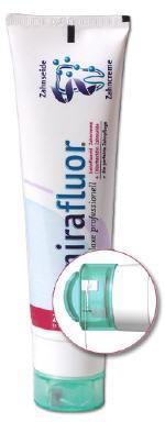 Mirafluor Zahncreme plus Zahnseide 100ml