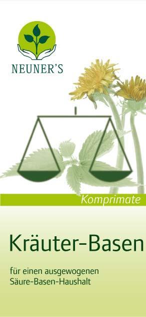 Neuner''sKräuter-Basen Komprimate