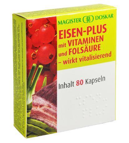 Doskar Eisen plus Kapseln 80 Stück