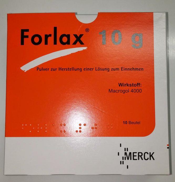 Forlax 10 g - Pulver zur Herstellung einer Lösung zum Einnehmen