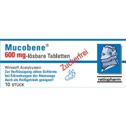 Mucobene 600 mg - lösbare Tabletten