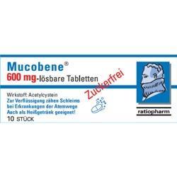 Mucobene 600 mg - lösbare Tabletten