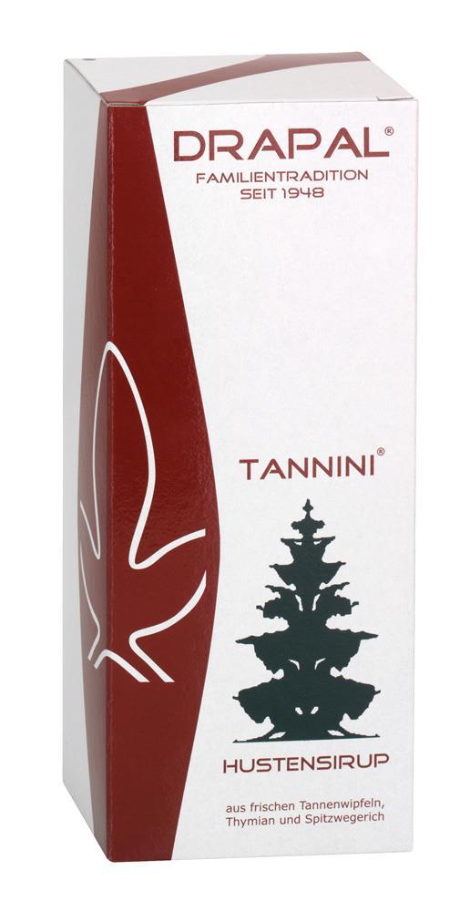 DRAPAL® Tannini Hustensirup Flasche