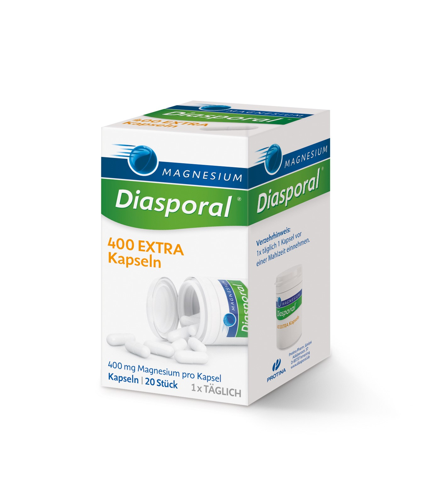 Magnesium Diasporal 400; EXTRA Kapseln