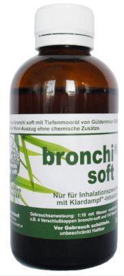 Bronchisoft Moor Eluat