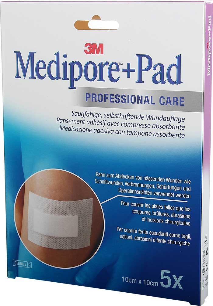 3M Medipore + Pad 10 x 10 cm