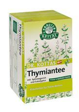 Dr. Kottas Thymiantee mit Spitzwegerich und Eukalyptus