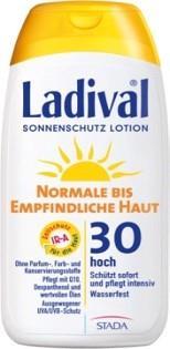 LADIVAL® normale bis empfindliche Haut Sonnenschutz Lotion LSF 30