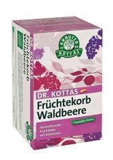 Dr. Kottas Früchtekorb Waldbeere 20 Beutel