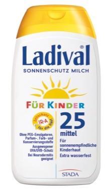 LADIVAL® Kinder Sonnenschutz Milch LSF 25
