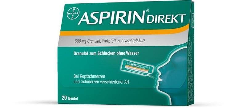 Aspirin Direkt 500 mg - Granulat