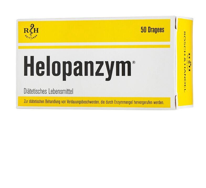 Helopanzym Dragees