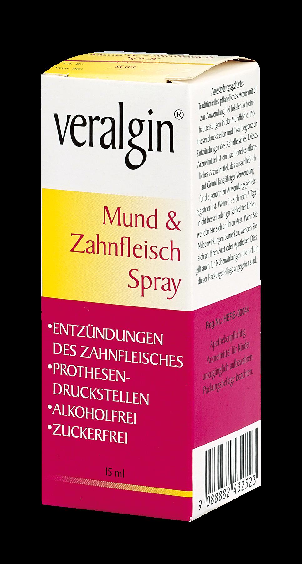 Veralgin - Mund & Zahnfleisch Spray