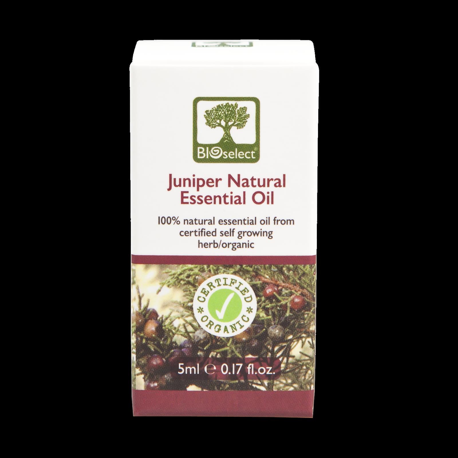 Bioselect Juniper Natural Essential Oil Certified Organic