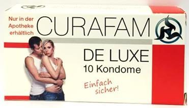 Curafam de luxe Kondome