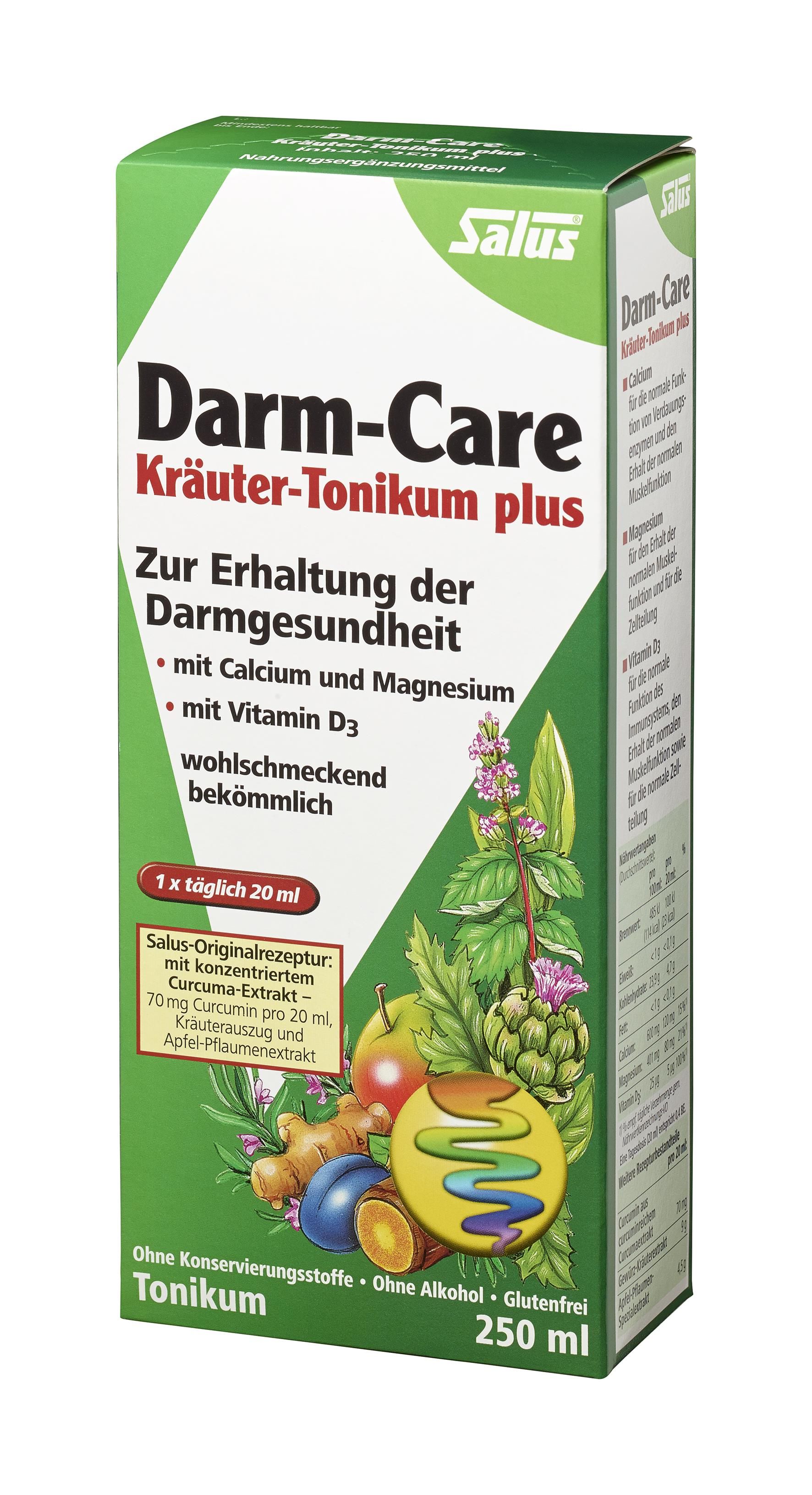 Salus® Darm-Care Kräuter-Tonikum plus