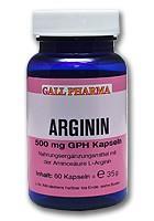 GPH Arginin 500mg Kapseln