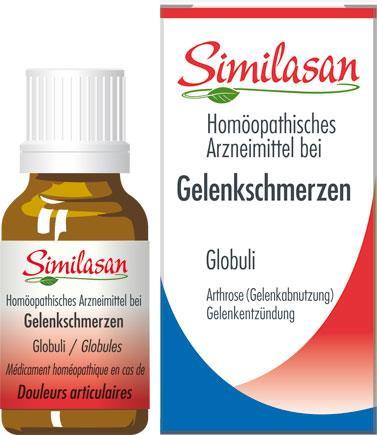 """Globuli gegen Gelenkschmerzen """"Similasan"""""""