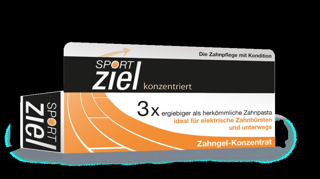 Sport Ziel Zahngel konzentriert ice-mint