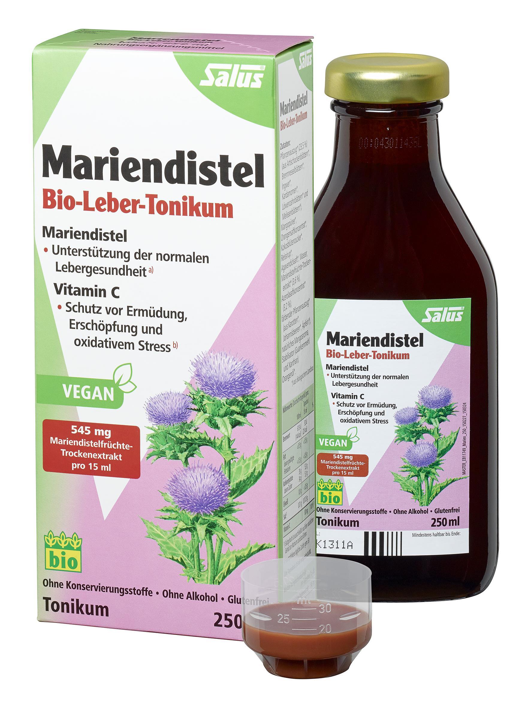 Salus Mariendistel BIO Leber-Tonikum