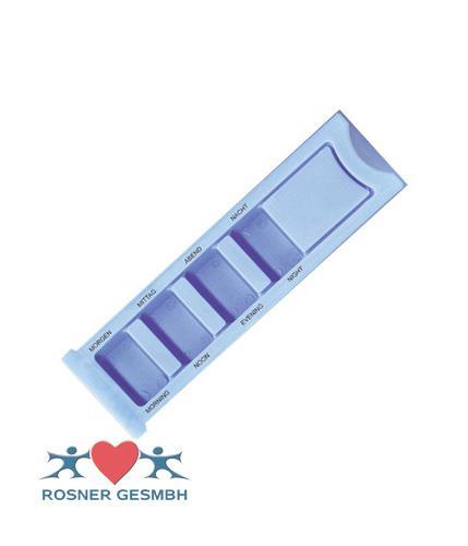 Rosner Medikamentendispenser 1 Tag blau