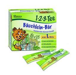 Sidroga 1•2•3•Tee Bäuchlein-Bär 12 Sachets