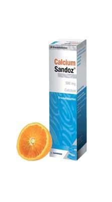 Calcium Sandoz 500 mg - Brausetabletten