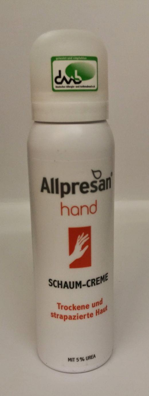 Allpresan Schaum-Creme Aufbaupflege für die Hand-Nein