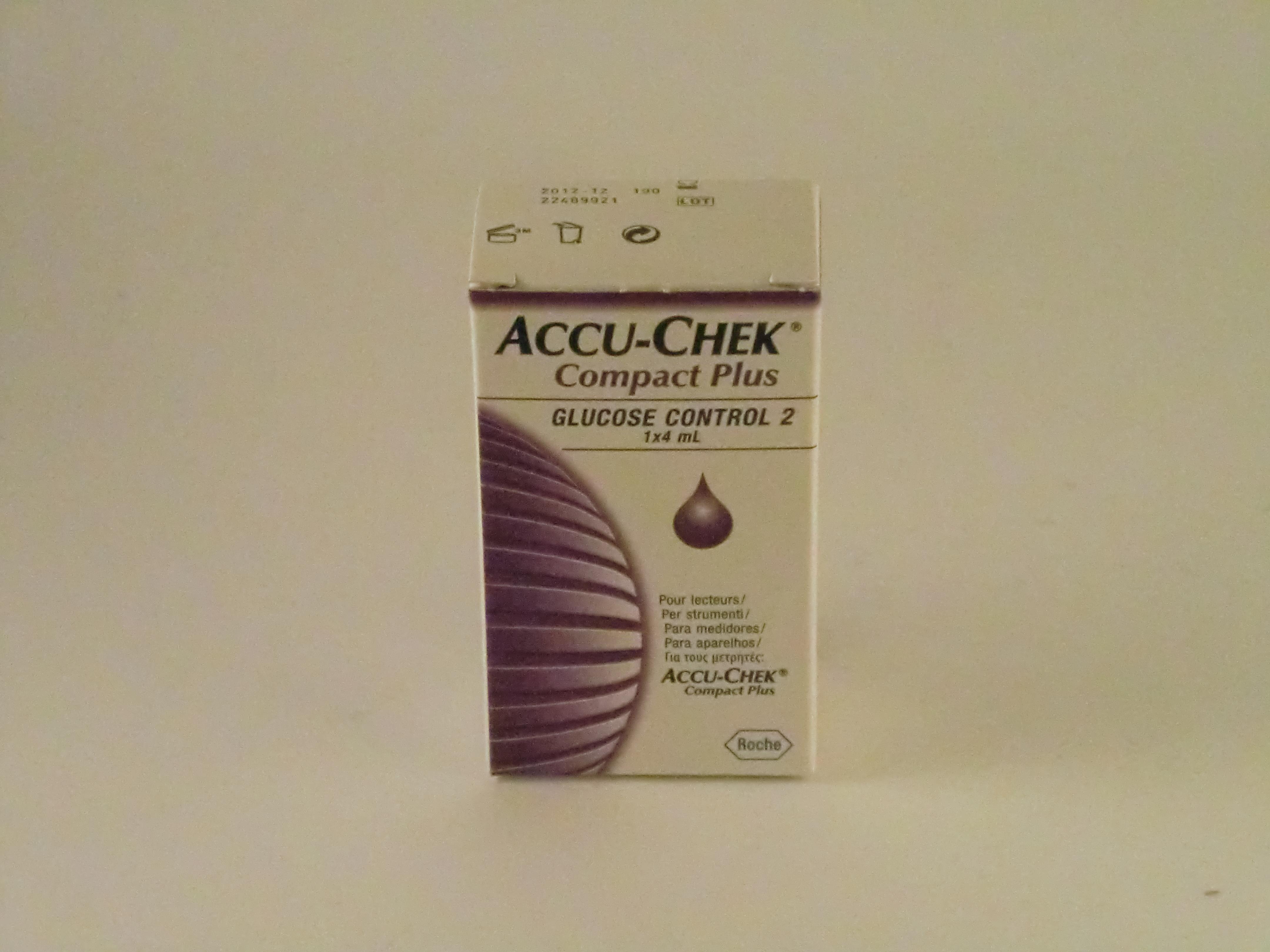 Accu-Chek Compact Kontrolllösung