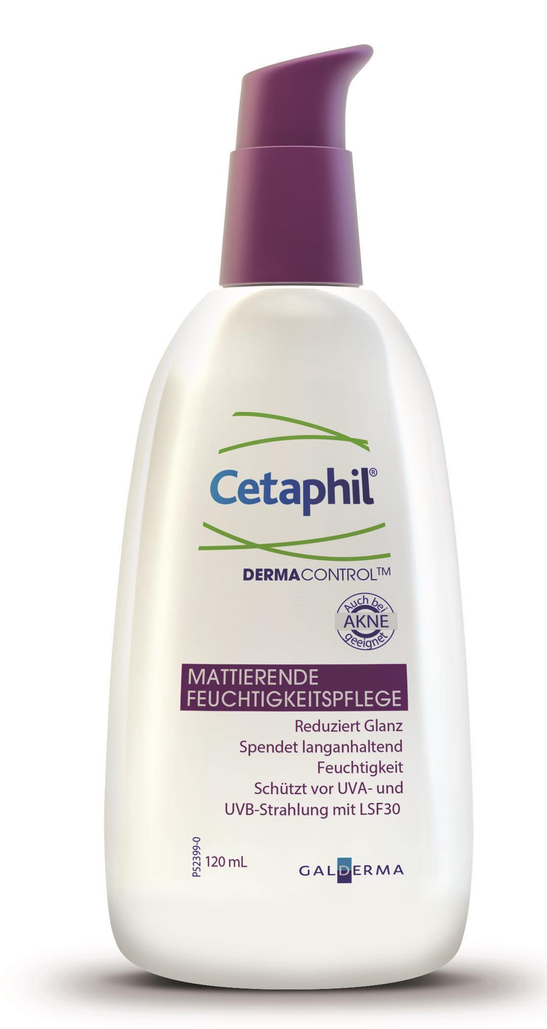 Cetaphil® DermaControl Mattierende Feuchtigkeitspflege LSF 30