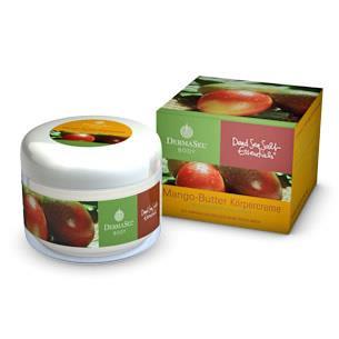 Fette dermasel Mangobutter Körpercreme