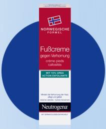 Neutrogena Fußcreme gegen Verhornung
