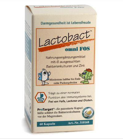 Lactobact omni FOS 300 Kapseln