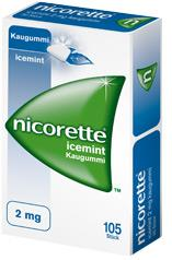 Nicorette Classic 4 mg - Kaugummi zur Raucherentwöhnung